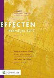 Effectenkoerslijst 2017 -leidraad voor de aangifte inko mstenbelasting 2016 en 2017