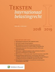 Teksten Internationaal belastingrecht 20