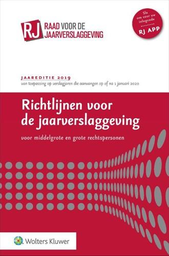 Richtlijnen voor de jaarverslaggeving, m -middelgrote en grote rechtsper sonen