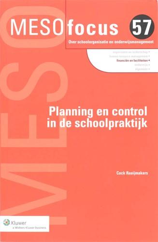 Planning en control in de schoolpraktijk Raaijmakers, C.