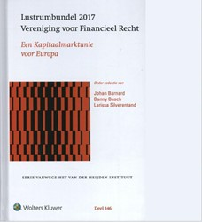 Lustrumbundel 2017 Vereniging voor Finan -een Kapitaalmarktunie voor Eur opa
