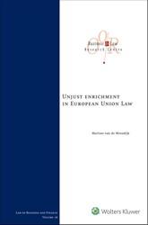Unjust enrichment in European Union Law Moosdijk, Marloes van de