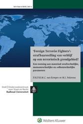 'Foreign terrorist fighters': -een toetsing aan materieel str afrechtelijke en volkenrechtel Kempen, P.H.P.H.M.C. van