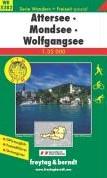 F&B WK5282 Attersee, Mondsee, Wolfga -Wandel- en fietskaart 1:35 000