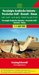 F&B Verenigde Arabische Emiraten, Pe -Wegenkaart 1:1 600 000 FREYTAG