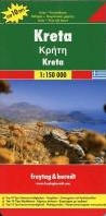 Kreta, Top 10 Tips, Autokarte 1:150.00 -Top 10 Tips Sehenswurdigkeite n. Cityplane. Ortsregister mi FREYTAG & BERNDT