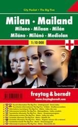 F&B Milaan city pocket -Stadskaart 1:10 000