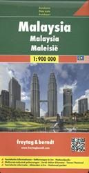 Malaysia 1 : 900 000. Autokarte -Touristische Informationen. En tfernungen in km. Nationalpark FREYTAG & BERNDT