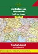 Centraal Europa Wegenatlas F&B -Wegenatlas 1:500 000