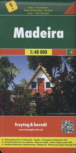 F&B Madeira -Toeristische wegenkaart 1:40 0 00 FREYTAG & BERNDT