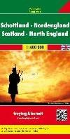 F&B Schotland, Noord-Engeland -Wegenkaart 1:400 000 FREYTAG