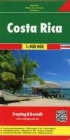 F&B Costa Rica -Wegenkaart 1:400 000 FREYTAG & BERNDT