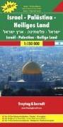 F&B Israel, Palestina, Heilige Land -Toeristische wegenkaart 1:150 000 FREYTAG & BERNDT