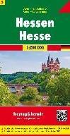 F&B Duitsland 5 Hessen -Toeristische wegenkaart 1:200 000