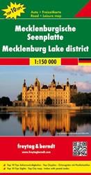 F&B Mecklenburgse Merenplateau -Toeristische wegenkaart 1:150 000