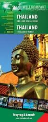 F&B Thailand - Welt Kompakt -Wegenkaart 1:1 200 000