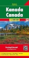 F&B Canada -Wegenkaart 1:3 000 000