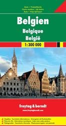 F&B Belgie -Toeristische wegenkaart 1:300 000