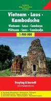 F&B Vietnam, Laos, Cambodja -Wegenkaart 1:900 000