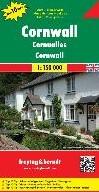 F&B Cornwall -Wegenkaart 1:150 000