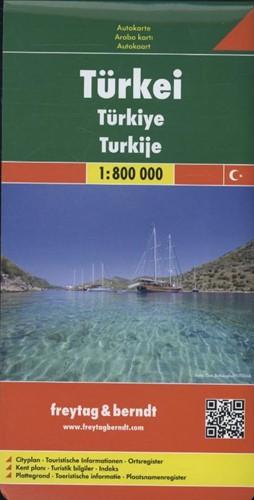 F&B Turkije -Wegenkaart 1:800 000 FREYTAG & BERNDT