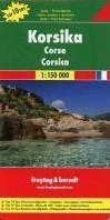 F&B Corsica -Toeristische Wegenkaart 1:150 000