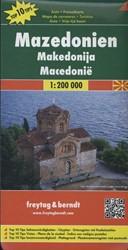 F&B Macedonie -Toeristische wegenkaart 1:200 000
