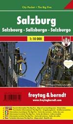 F&B Salzburg city pocket -Stadskaart 1:10 000