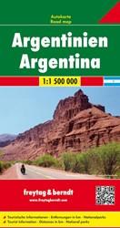 F&B Argentine -Wegenkaart 1:1 500 000