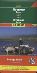 Myanmar (Burma) 1 : 1 000 000. Autokarte -Nationalparks. Ortsregister. T ouristische Informationen