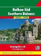 Zuid-Balkan Wegenatlas F&B -Wegenatlas 1:200 000
