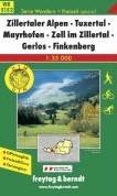 Zillertal Alpen-Tuxertal-Mayrhofen-Zell -GPS-tauglich / Freizeitfuhrer / Ortsregister