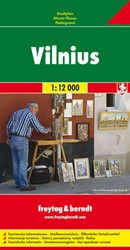 F&B Vilnius -Stadskaart 1:12 000