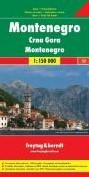 F&B Montenegro -Toeristische wegenkaart 1:150 000