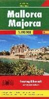 Mallorca, Planungskarte 1:100.000 -Wegenkaart 1:100 000