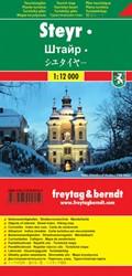 F&B Steyr -Stadskaart 1:12 000
