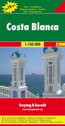 F&B Costa Blanca -Toeristische wegenkaart 1:150 000