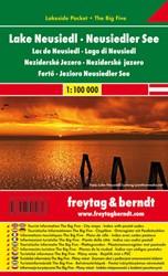 F&B Neusiedler See Lakeside Pocket -Toeristische wegenkaart 1:100 000