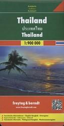 Thailand 1 : 900 000. Autokarte -Touristische Informationen. Ci typlan Bangkok. Ortsregister FREYTAG & BERNDT