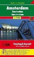 Amsterdam 1 : 10 000 City Pocket + The B -9783707909197-A-KRT FREYTAG & BERNDT