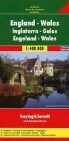 F&B Engeland - Wales -Wegenkaart 1:400 000 FREYTAG