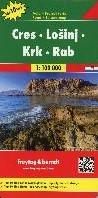 F&B Cres - LoSinj - Krk - Rab -Toeristische wegenkaart 1:100 000