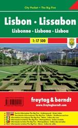 F&B Lissabon city pocket -Stadskaart 1:7 500
