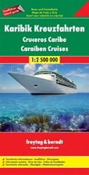 F&B Caribische Cruises -Toeristische wegenkaart 1:2 50 0 000