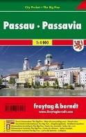F&B Passau city pocket -Stadskaart 1:4 000