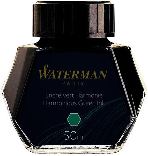 VULPENINKT WATERMAN 50ML HARMONIEUS -VULPENINKT S0110770 GROEN