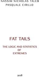 Logic & Statistics Of Fat Tails Taleb, Nassim Nicholas