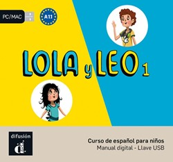 Lola y Leo 1 - A1.1 - Llave USB con libr