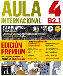 Aula Internacional 4 Premium Libro del a