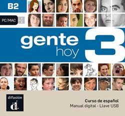 Gente hoy 3 - B2 - Llave USB con libro d